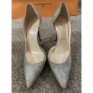 Christian Louboutin Silver/Gold Iriza Shoes